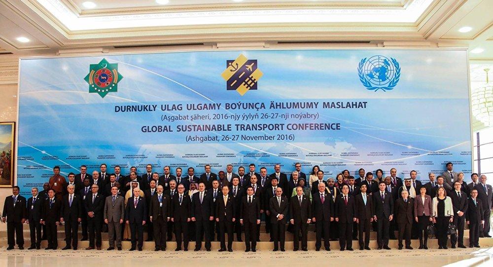 ВАшхабаде проходит конференция поустойчивому развитию транспорта