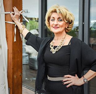 Грузинская певица и актриса Ирма Сохадзе