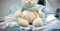 სათამაშო ბავშვთა საავადმყოფოს პალატაში