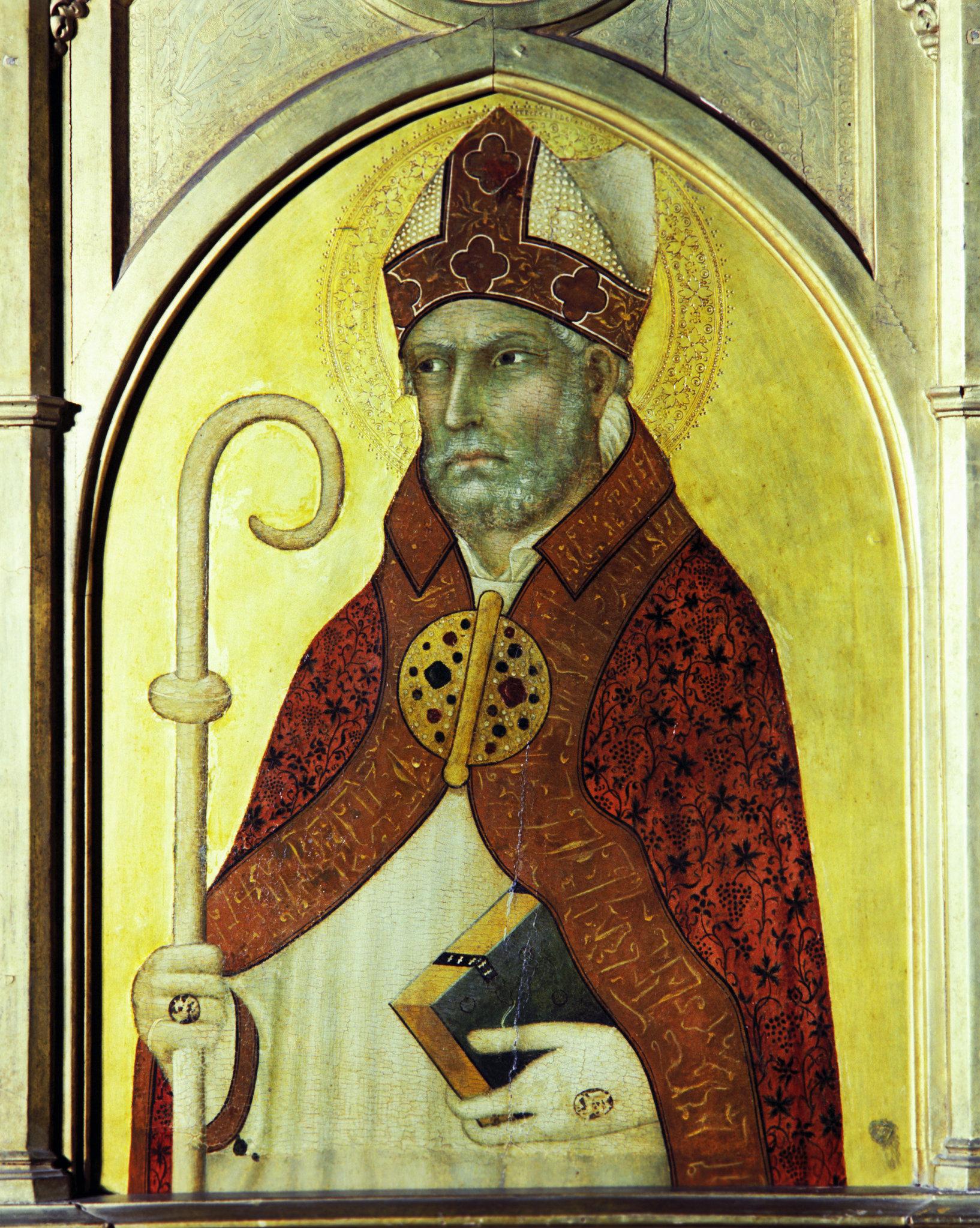 Икона с изображением Блаженного Августина