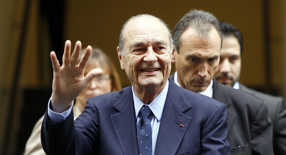 საფრანგეთის პრეზიდენტი ჟაკ შირაკი