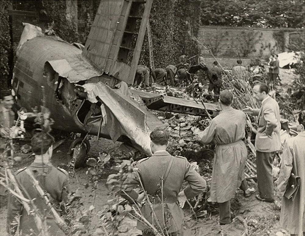 Авиакатастрофа в Суперга 4 мая 1949 года, в результате которой погибла футбольная команда Торино