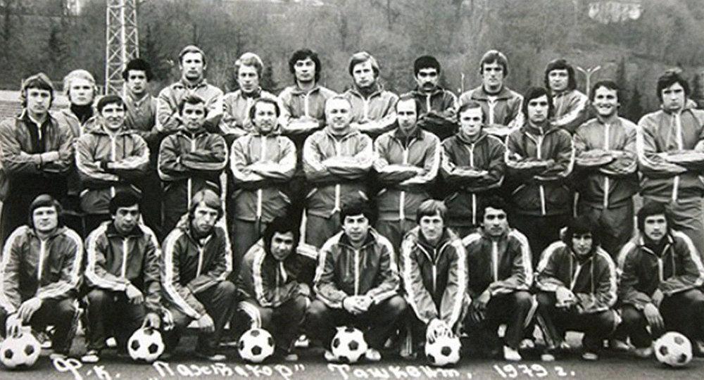 Футбольный клуб Пахтакор. Архивное фото