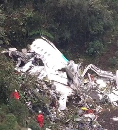 კოლუმბიაში ავიაკატასტროფის ადგილზე სამძებრო-სამაშველო ოპერაცია ჩატარდა