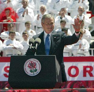 Визит президента США Джорджа Буша в Грузию