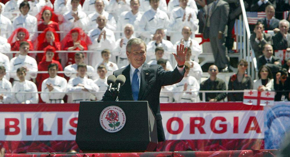 აშშ-ის პრეზიდენტის, ჯორჯ ბუშის ვიზიტი საქართველოში
