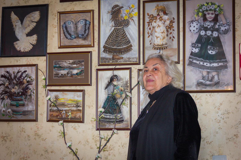 Грузинская художница Лия Барнабишвили и ее работы
