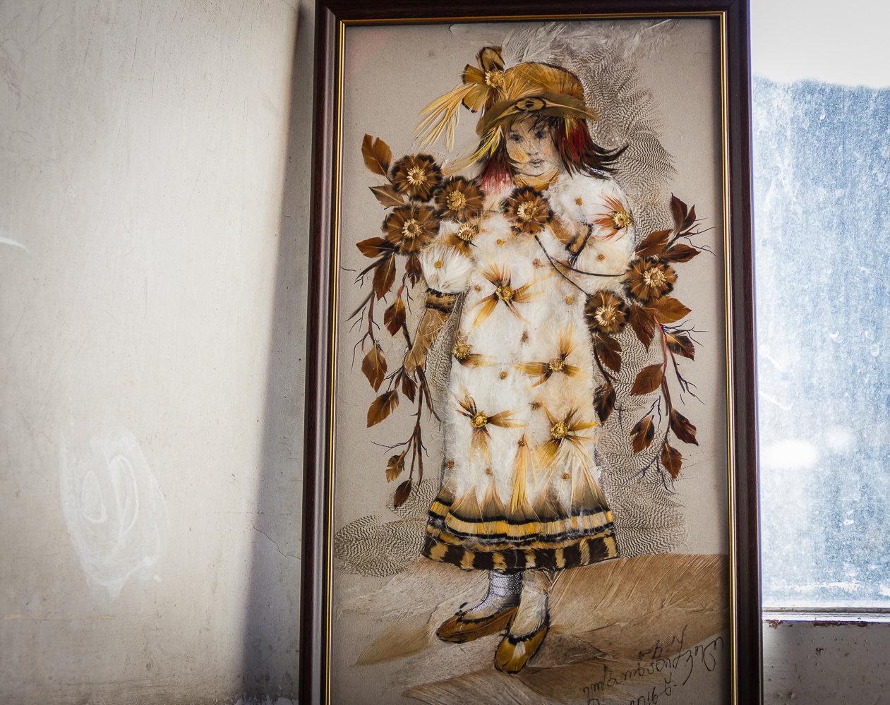 Работа грузинской художницы Лии Барнабишвили
