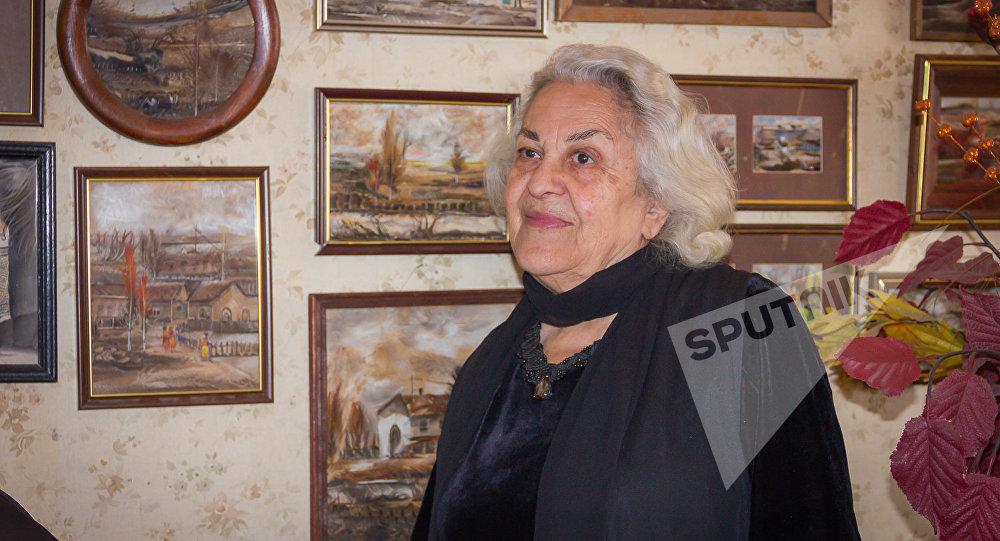 Грузинская художница Лия Барнабишвили