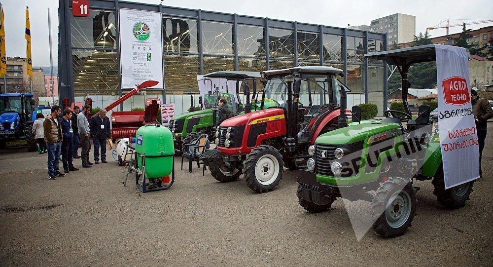 Международная сельскохозяйственная выставка в столице Грузии