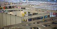 Стенды различных компаний в 11-м павильоне ExpoGeorgia