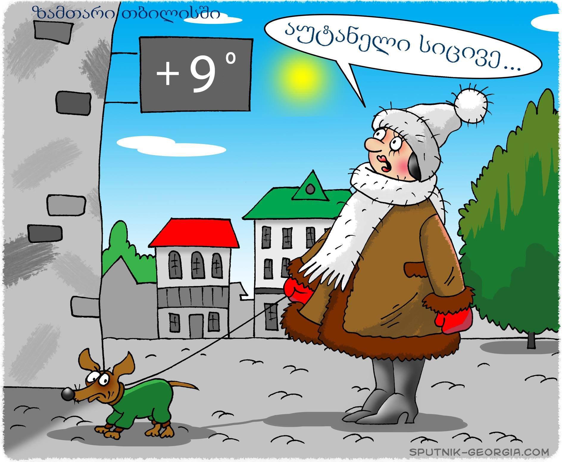 ზამთარი თბილისში