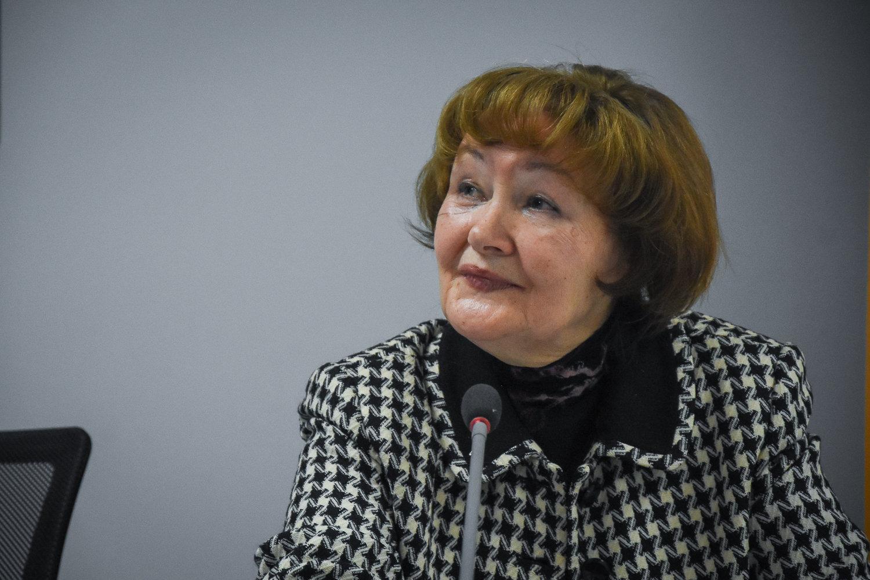Журналист, театральный критик Вера Церетели