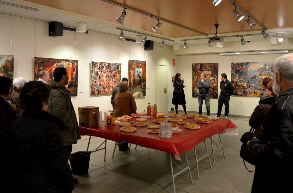 Выставка картин Зазы Папидзе в Испании