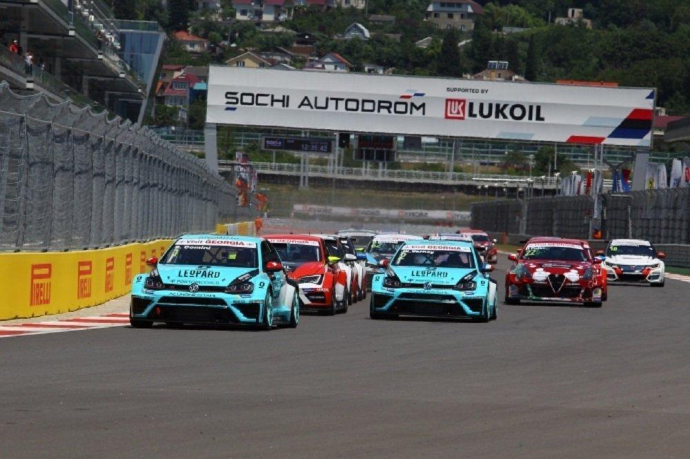 Гонки международной серии TCR в Сочи
