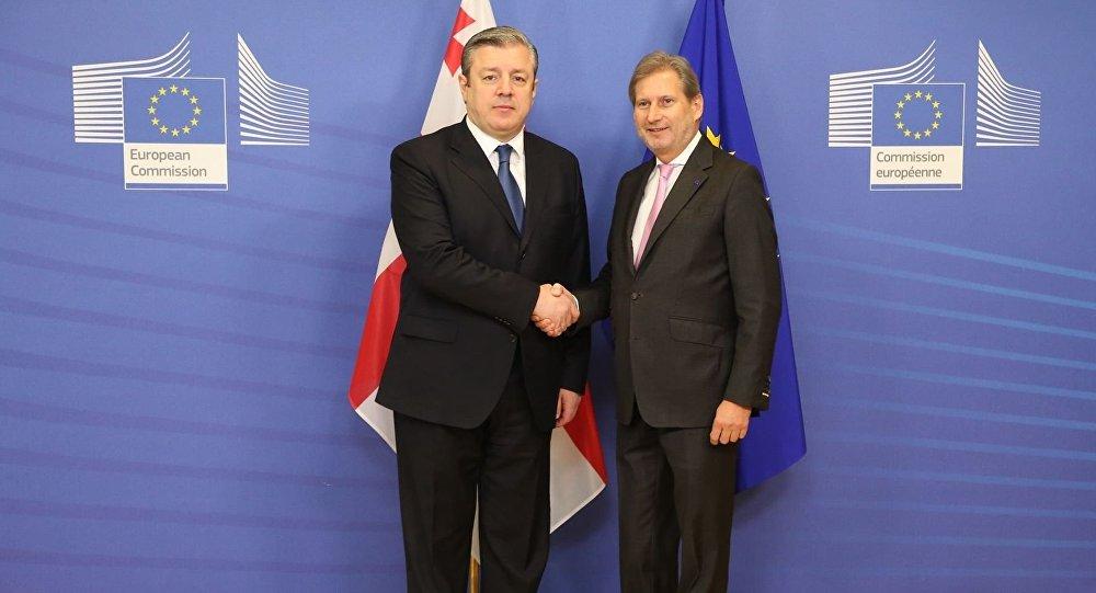 Георгий Квирикашвили и Йоханес Хан