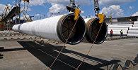 Доставка труб для строительства Турецкого потока