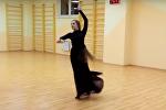 Лилия из Воронежа бесподобно исполнила аджарский танец