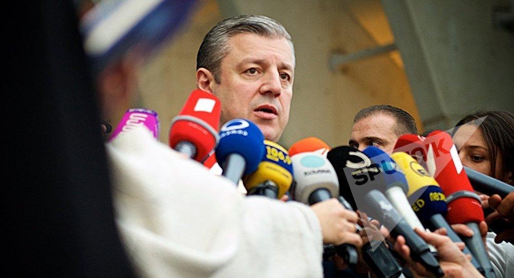 Премьер Грузии провел переговоры сФедерикой Могерини