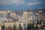 Вид на Тбилиси с Площади Революции роз