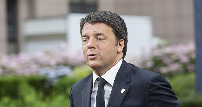 Итальянский премьер-министр Маттео Ренци
