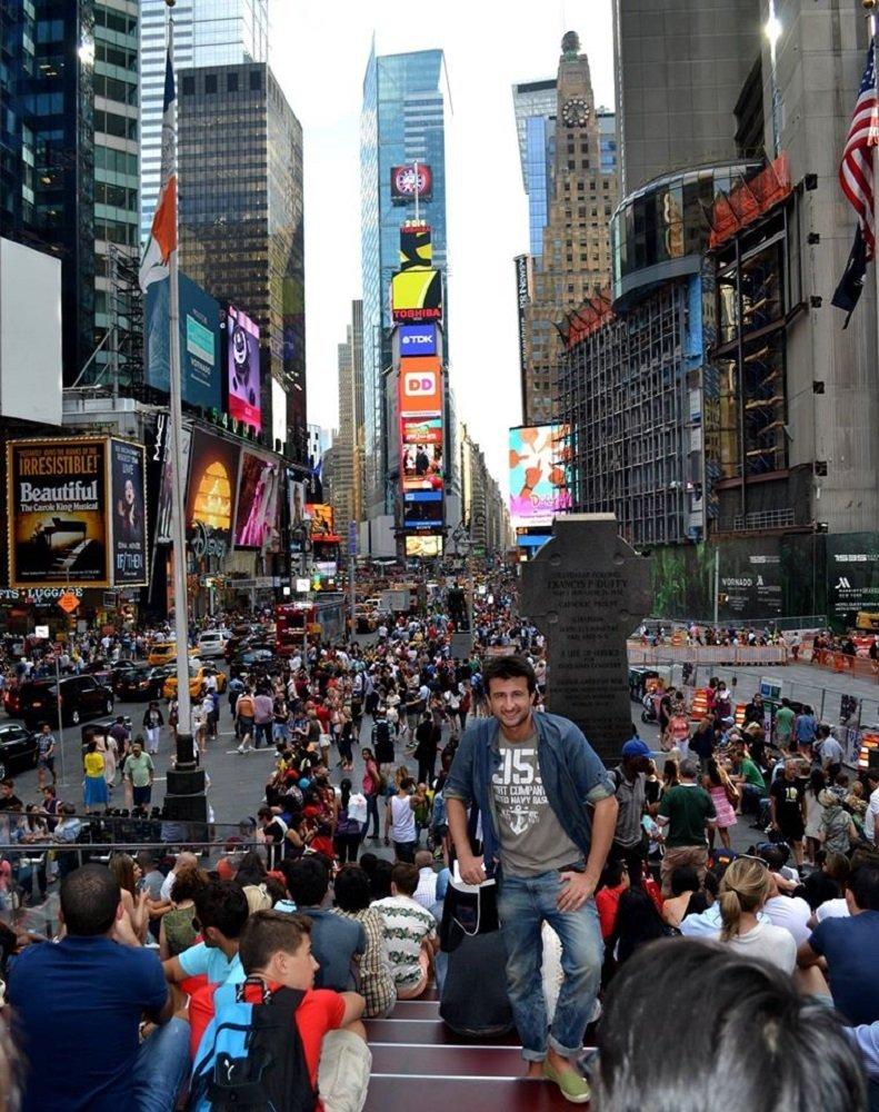 გურამ შეროზია ნიუ-იორკში
