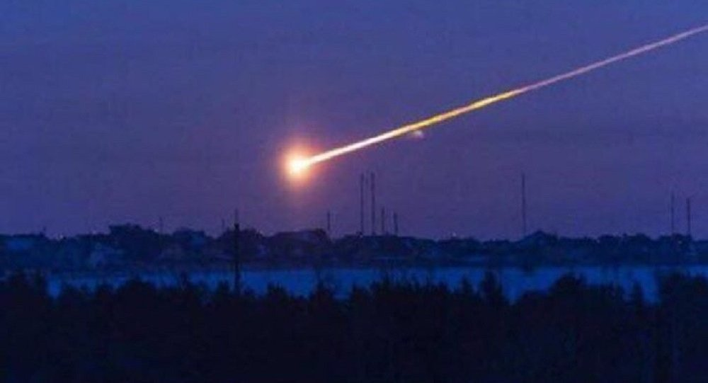 Пролет метеорита