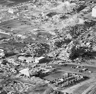 Город Спитак был практически полностью разрушен в 1988 году сильнейшим землетрясением, сила которого превышала 10 баллов