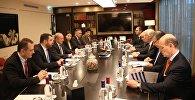 Встреча делегаций Грузии и Уругвая
