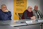 Участники круглого стола Судебно-правовая реформа в Грузии: опыт и вызовы