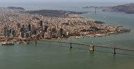 Сан-Франциско, Калифорния с высоты птичьего полета