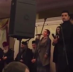 Католикос-Патриарх всея Грузии Илия Второй встретился с грузинской диаспорой в Москве