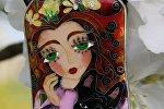 Ювелирное изделие в технике перегородчатой эмали от Анны Джанукашвили