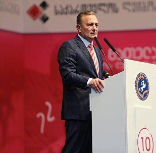 Лидер Лейбористской партии Грузии Шалва Нателашвили