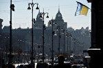Улица Крещатик в Киеве.