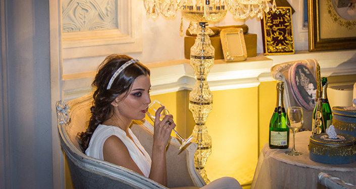 Модный свадебный декор