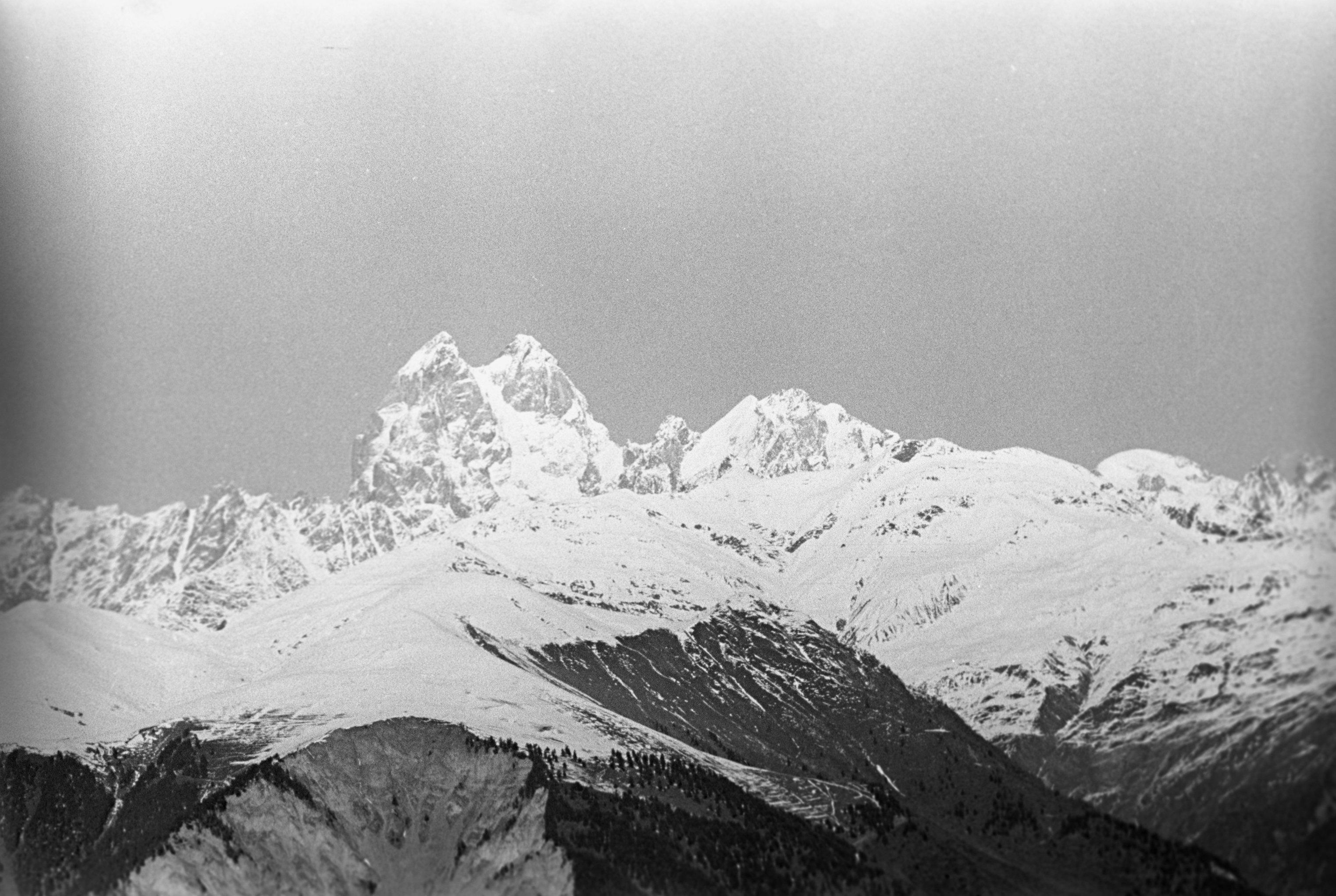 Одна из вершин Большого Кавказа - Ушба