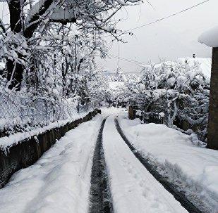 Снег в Хуло