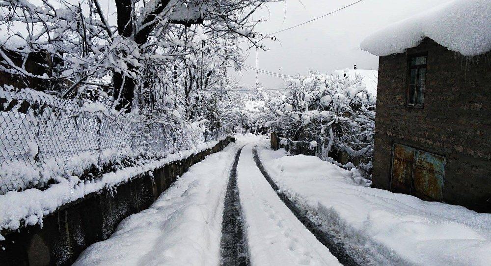 თოვლი ხულოში