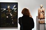 Показ выставок Чистые основы Христоса Бокороса и Параллель двух легенд. Сосланбек Едзиев и Нико Пиросмани