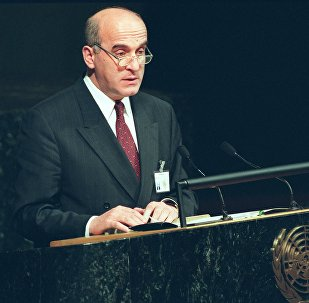 Ираклий Менагаришвили на 52-ой ежегодной Ассамблее ООН