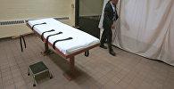 Помещение для смертельных инъекций в тюрьме в штате Огайо