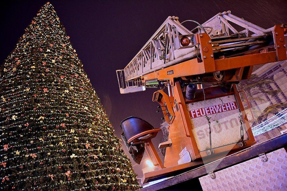 საქართველოს მთავარი ნაძვის ხის განათებების მონტაჟი უკვე სრულდება - მემონტაჟეები ჩქარობენ, მალე ახალი წელია!