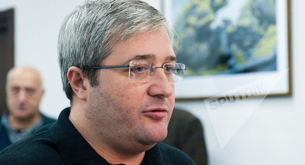 Депутат парламента Грузии Гиви Таргамадзе