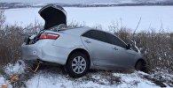 Машина слетела с дороги в Одесской области