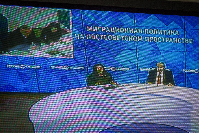 Видеомост: Миграционная политика на постсоветском пространстве