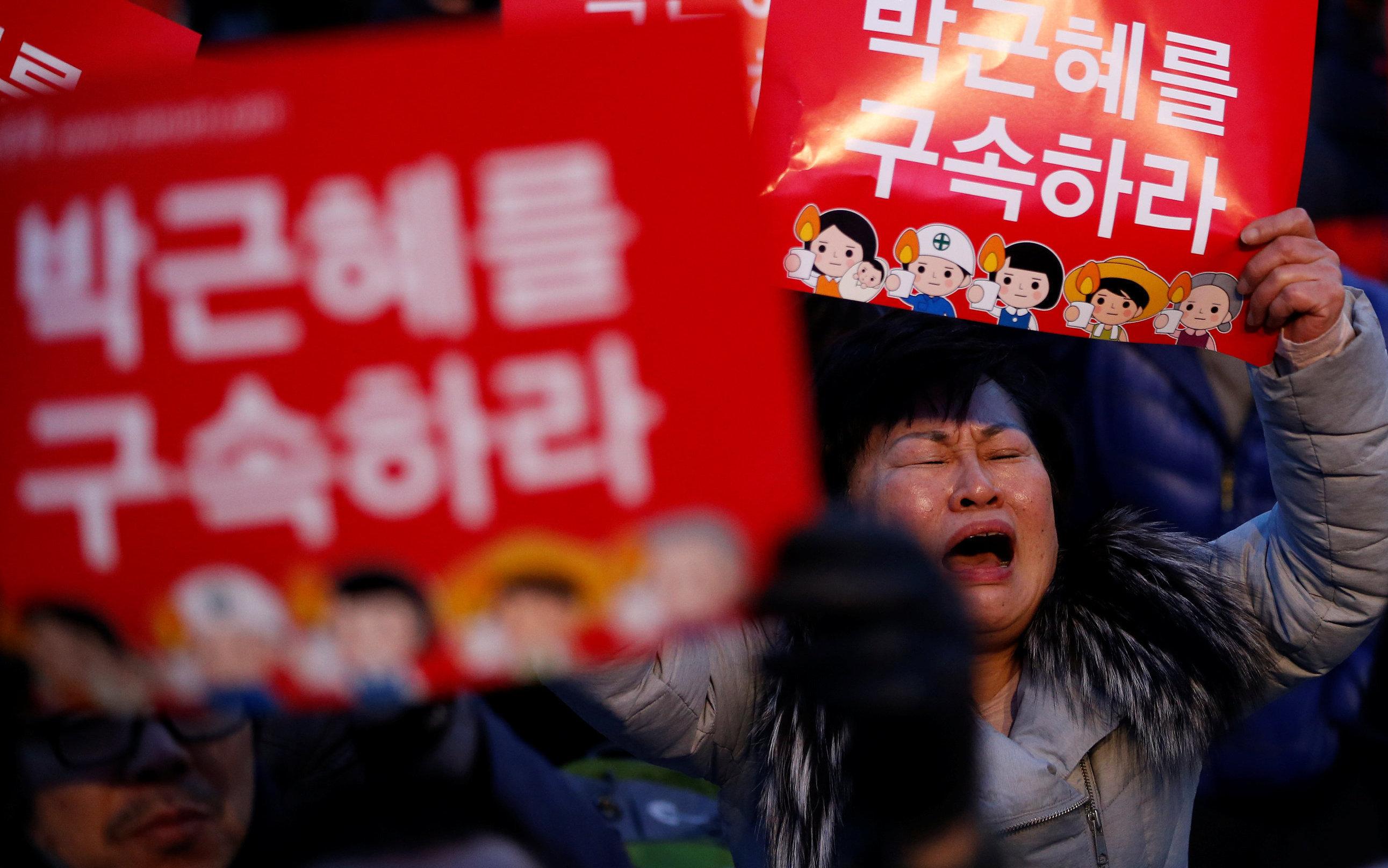 Президент Южной Кореи хочет оспаривать решение обимпичменте