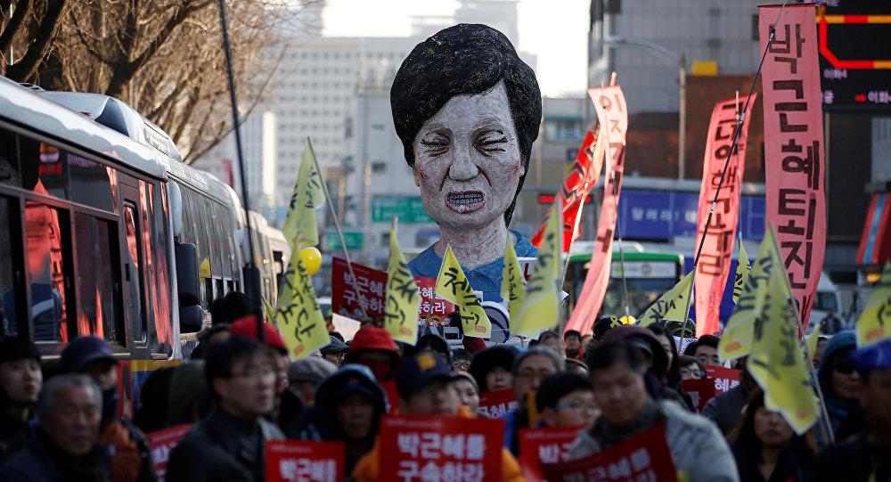 Юристы президента Южной Кореи сообщили онезаконности импичмента