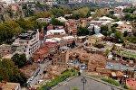 Панорама Тбилиси - Старый город