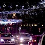 Праздничная иллюминация на проспекте Руставели уже полностью подключена - так Тбилиси будет встречать Новый год